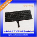 "Rusia Teclado Para Macbook Air 13 ""A1369 A1466 2011 2012 2013"