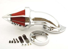Cone Spike Air Cleaner Kit For Yamaha Vstar V-Star 650 CHROME[MP42]