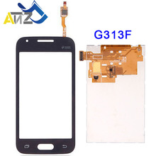 An'Z For Samsung Galaxy Ace 4 LTE G313H LCD Touch Screen G313F G313HU/HZ display pantalla ekran Digitizer 100% best working new lcd display screen for samsung galaxy ace 4 g313f s2gbg313f01am mobile phone spare parts