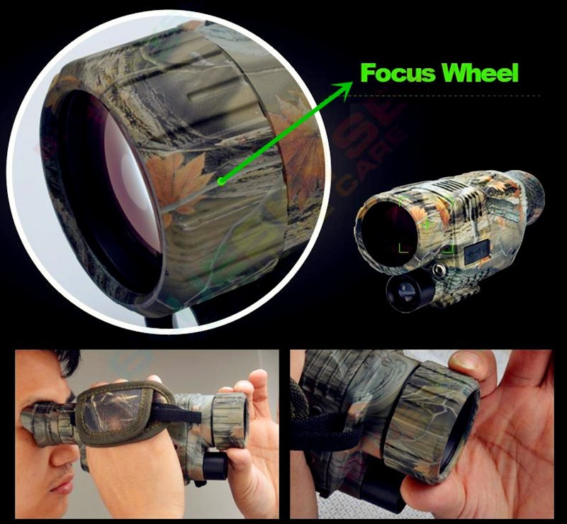 4 prong night vision 2 way venn diagram 5 times digital 5x40 ccd ir digitale monocular infrared telescope camera video function for hunting in binoculars from