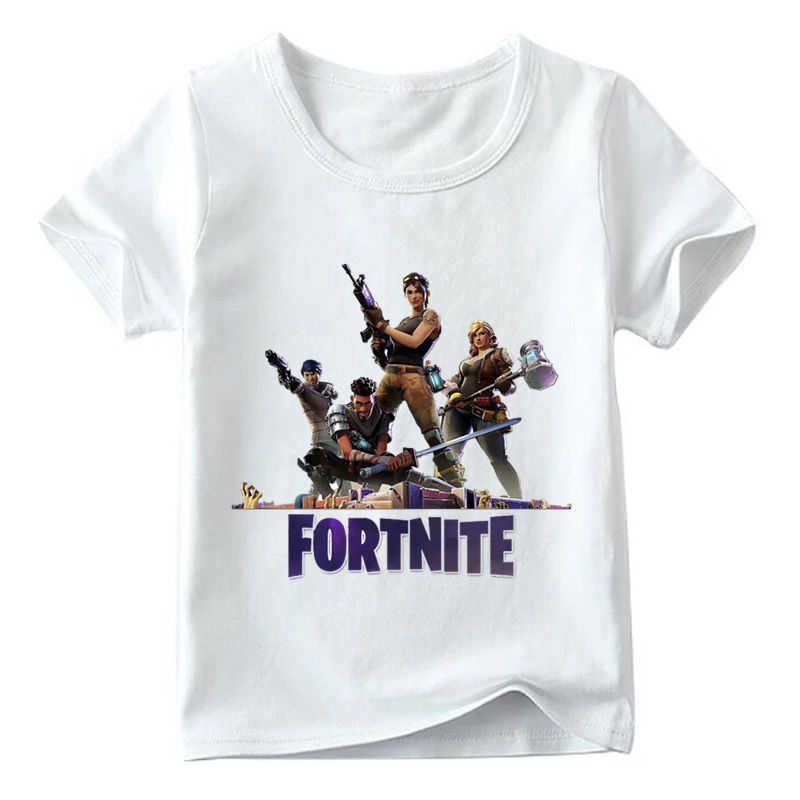 Children Game Funny T shirt Baby Boys/Girls Summer Fashion Top Short Sleeve T shirts Kids Casual Comfortable Clothes,HKP2403 2016 summer boys short sleeved t shirt two piece children s sports suit camouflage uniforms boys