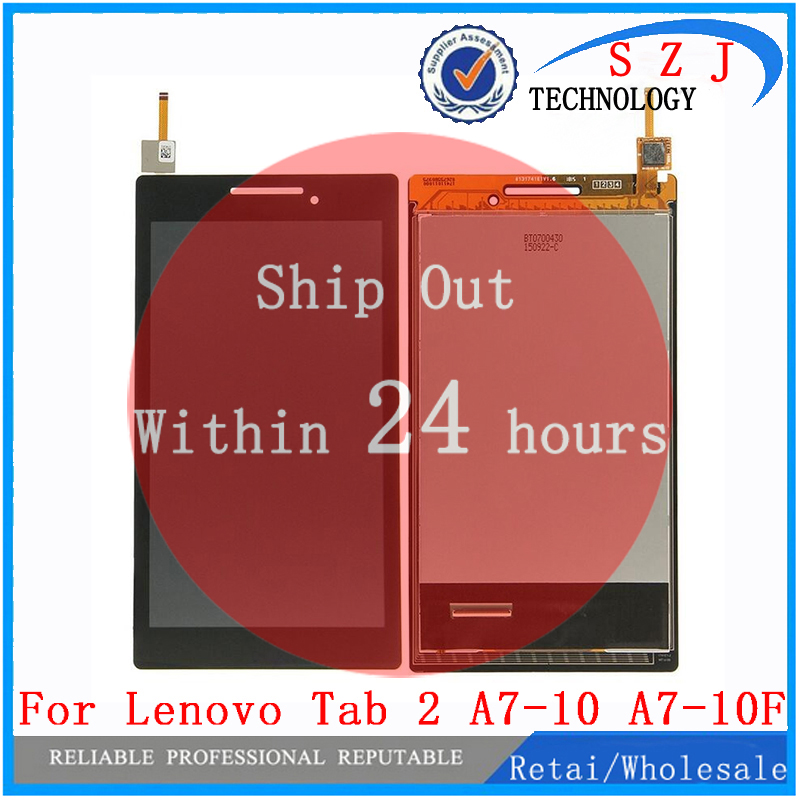 New 7 inch For Lenovo Tab 2 A7-10 A7-10F LCD Display + Touch Screen Digitizer Assembly ReplacementsNew 7 inch For Lenovo Tab 2 A7-10 A7-10F LCD Display + Touch Screen Digitizer Assembly Replacements