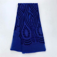 High quality African lace fabric embroidery nigerian lace fabrics Latest french net lace TL1008