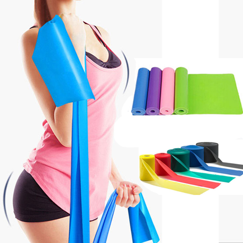 2018 chaud Gym équipement de Fitness musculation Latex élastique résistance bandes entraînement Crossfit Yoga caoutchouc boucles Sport Pilates