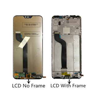 Image 2 - For Xiaomi Mi A2 lite display Touch Screen Digitizer assembly For Xiaomi Redmi 6 Pro/ Mi A2 Lite LCD Display With Frame