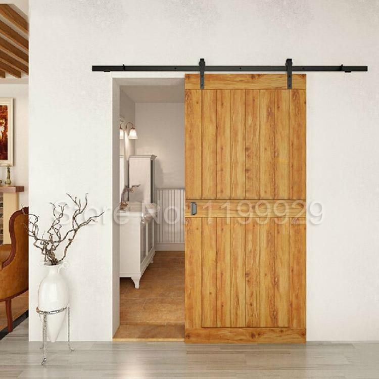 tahan lama kayu keras pintu geser gudang hardware geser track hardware pengiriman gratis di. Black Bedroom Furniture Sets. Home Design Ideas