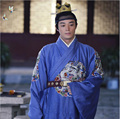 New arrival gown high quality Chinese ancient emperor costume the Ming dynasty costume clothes Hanfu male