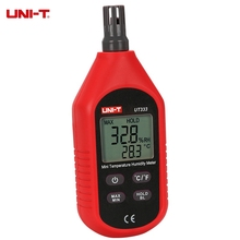 UNI-T UT333 Mini LCD Digital Temperature Humidity Meter Thermometer Indoor Outdoor Hygrometer Tester