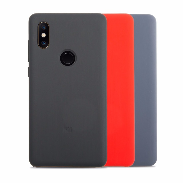 on sale 7c422 d68c2 US $13.29 5% OFF|Original Xiaomi Mi MIX 2S Cases Silicone Protection Case  Cover For Xiaomi Mix2S High Quality-in Half-wrapped Case from Cellphones &  ...