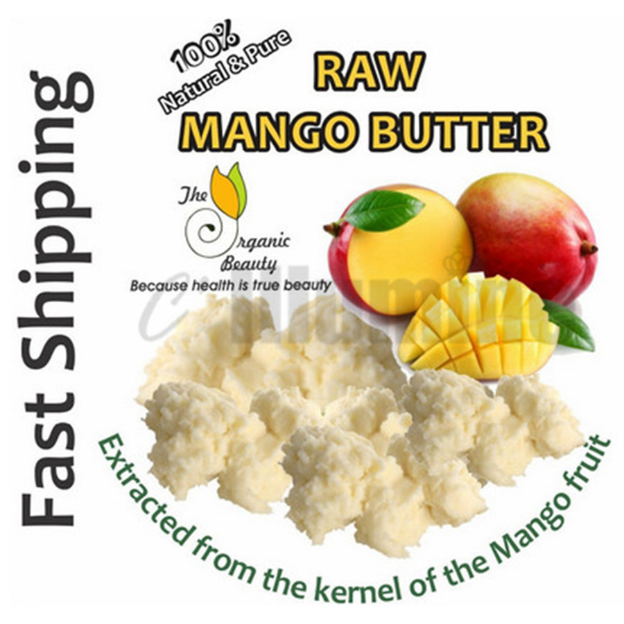 Organic RAW Mango Butter Soap 100g Handmade Soap Ingrediants New And Fresh