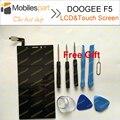 DOOGEE F5 Tela LCD Tela de 100% Display LCD + Substituição Da Tela de Toque Original Para DOOGEE Smartphones F5 Frete Grátis