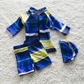 Das Crianças do verão Crianças Swimwear Maillot de Bain Swimwear Rash Guards Crianças InfantTwo Peças Maiô para Meninos 0-7A