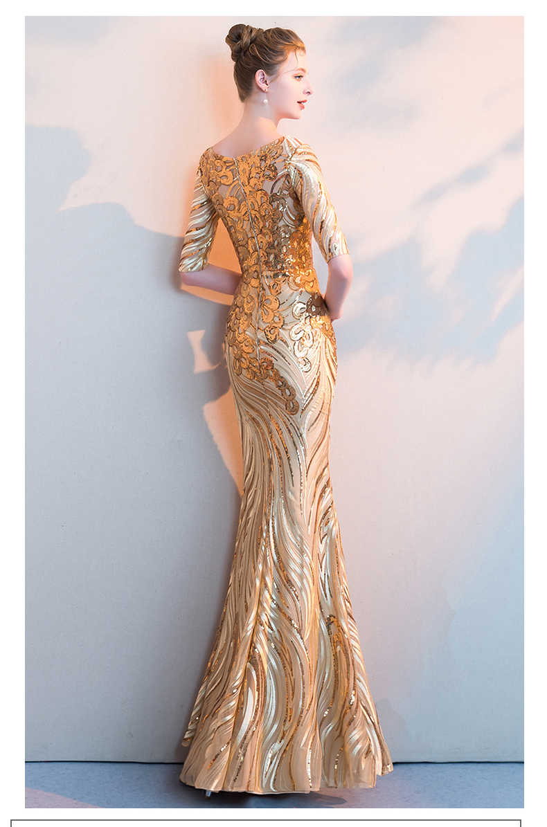8629bc9a4a Gold Sequin Mother Of The Bride Dresses - Gomes Weine AG