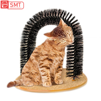smartpet-pet-brush-comb-play-cat-toy-plastic-scratch-bristles-arch-massager-self-grooming-removing-hair-cat-scratcher-supplies