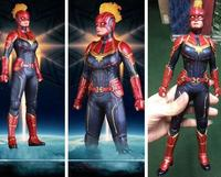40cm Avengers Endgame Captain Marvel Action figure toys doll Christmas gift with box