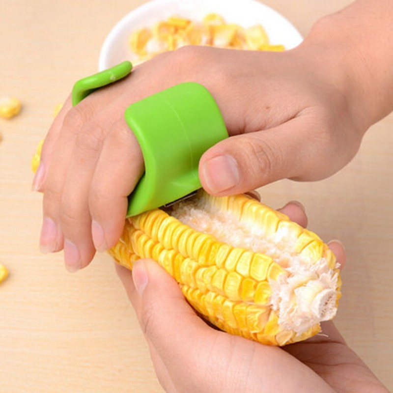 Kitchen accessories household gadget Corn stripper cob remover cutter Corn shaver Corn Peeler Cooking tool