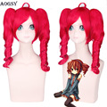 Hot Sale VOCALOID V home TETO red doulble clip red cosplay wig