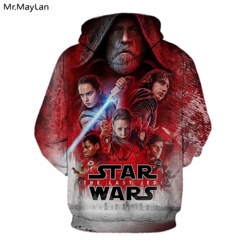 Mr MayLan Star War Super Hero Hooded 3D Print Hoodie Cool Sweatshirt Fashion Game Movie Women Men Sweatsuits Tops Drop shipping in Hoodies amp Sweatshirts from Men 39 s Clothing