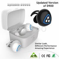 5PCS Original Syllable D900S Bluetooth Stereo Earphone Wireless Music Headset Handsfree Mini Earbud fone de ouvido Auriculares
