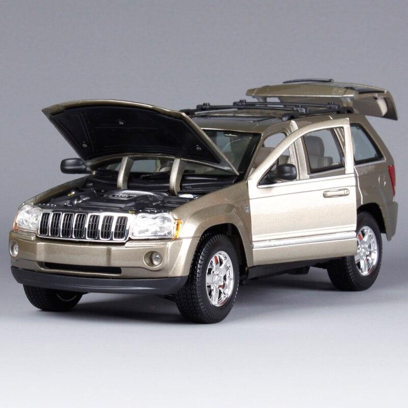 Maisto 1:18 2005 JEEP Grand Cherokee SUV Diecast Carro Modelo De Carro De  Brinquedo Novo Na Caixa Frete Grátis 31119 Em Veículos Miniatura E De  Brinquedo De ...