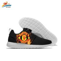 Best Quality 2019 League Manchester Logo Men's Shoes Quality Fashion Summer Mens Casual Manchester Print Shoes