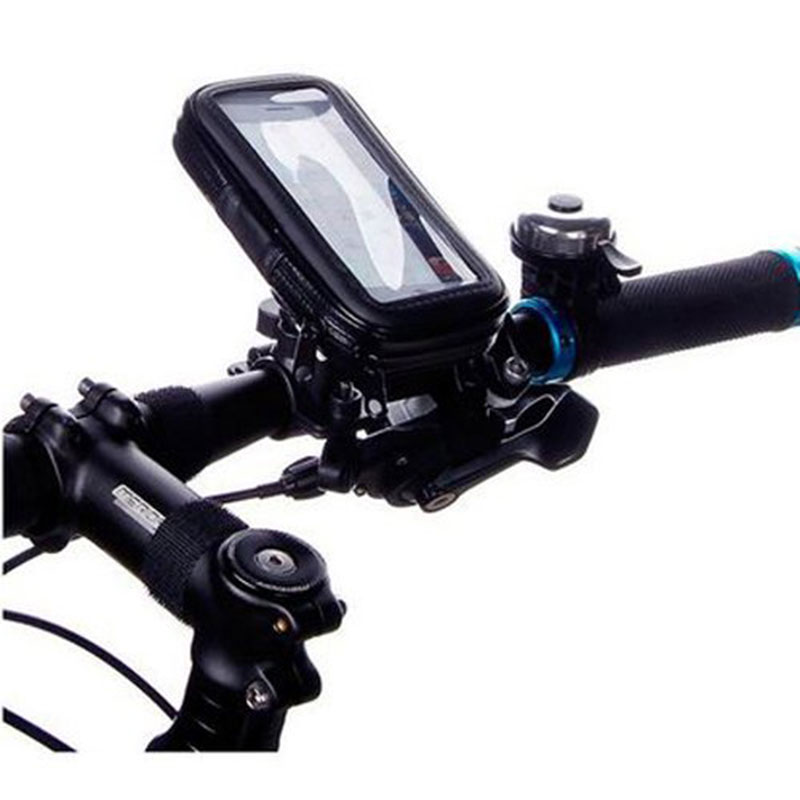 Bike Bicycle With Waterproof Case Bag For Xiaomi Mi3 Motorcycle Phone Support Handlebar Mount Cradle