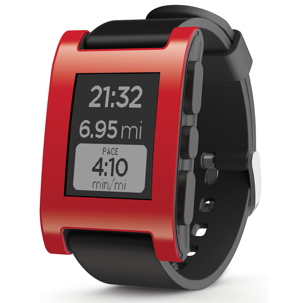 ZycBeautiful pour Pebble Classique E-Papier Smartwatch Multi-Fonctions Pebble Montre de Sport 5-ATM Étanche Montre Smart Watch