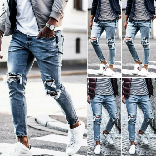 Men'sjeans For Mens Slim Fit Pants Classic Jeans Male Denim Jeans Designer Trousers Casual Skinny Straight Elasticity Pants