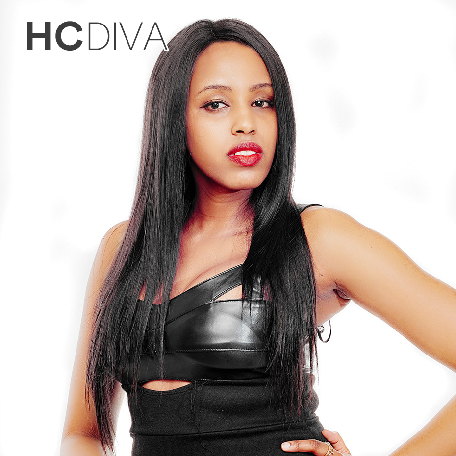 HCDIVA Hair Products 1 Piece Only Peruvian Straight Hair Weft 10-28 INCH Non-remy 100% Human Hair Weave Bundle Natural Color