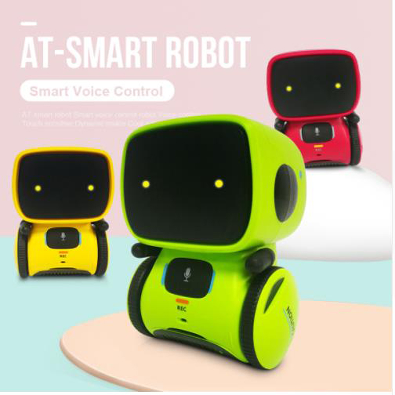 2019 New Type Interactive Robot Cute Toy Smart Robotic Robots for Kids Dance Voice Command Touch Control Toys birthday Gifts