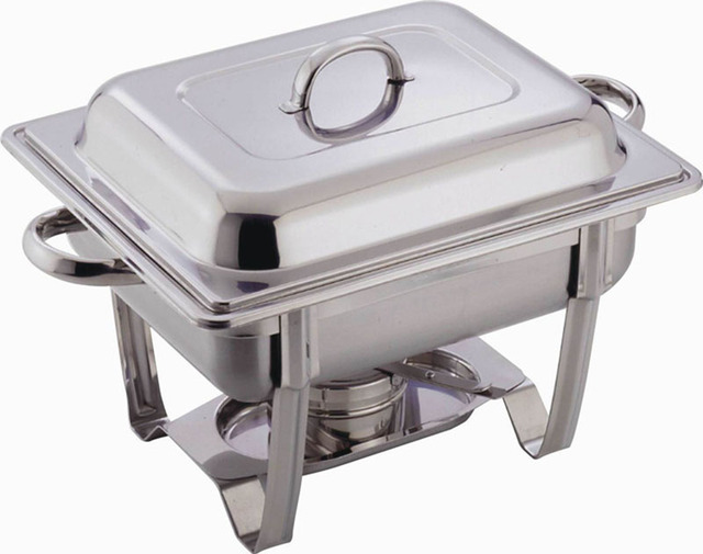 stainless steel buffet heater chafing dish hotpot set 4 5l wedding winter catering banquet cooking pan