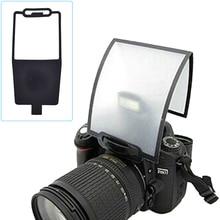 По всему миру Камера Рассеиватели для вспышки Софтбоксы черный прозрачный Отражатели для Canon Nikon YongNuo Speedlite