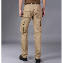 New Men Baggy Cargo Pants Loose Fit Outer door Military Overalls Causal Trousers  men's pants Plus Size 28-38