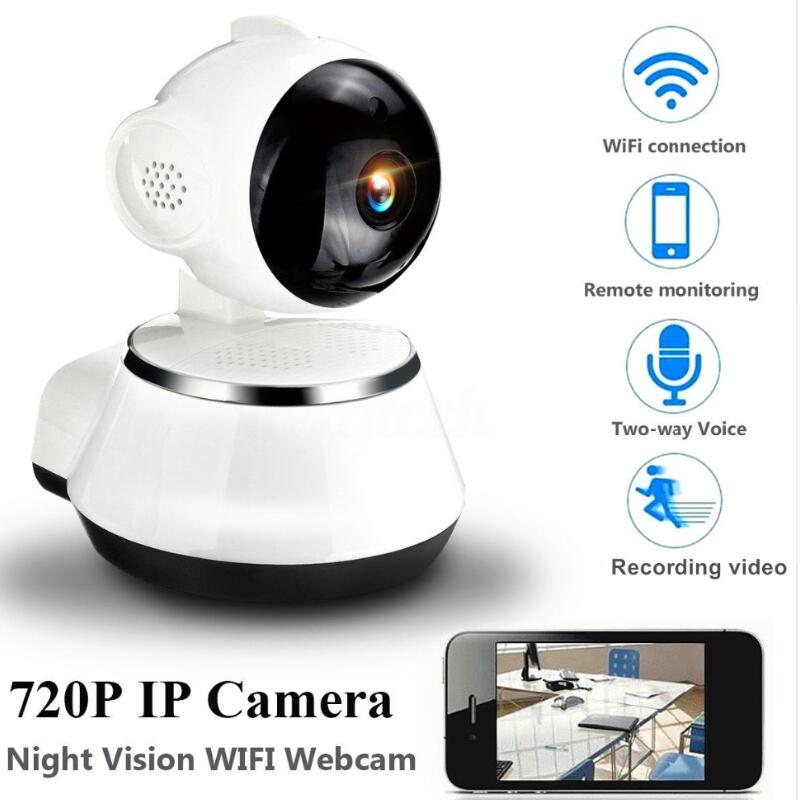 Home Security IP Camera 720P Wireless Smart WiFi Camera WI-FI Audio Record Surveillance Baby Monitor HD Mini CCTV Camera home security ip camera 3g 4g sim wireless smart wifi camera wi fi audio record surveillance baby monitor hd mini cctv camera