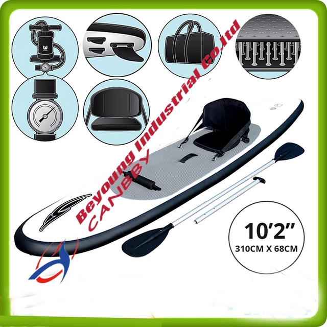 Sup Inflatable HydroForce WaveEdge Inflatable Stand Up Paddle board Bestway  10 2