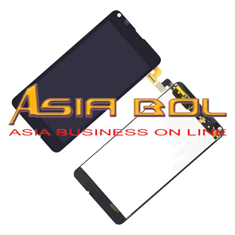 Prix pour Nouvel écran tactile digitizer lentille en verre + lcd assemblée d'affichage pour lumia 640 & numéro de suivi