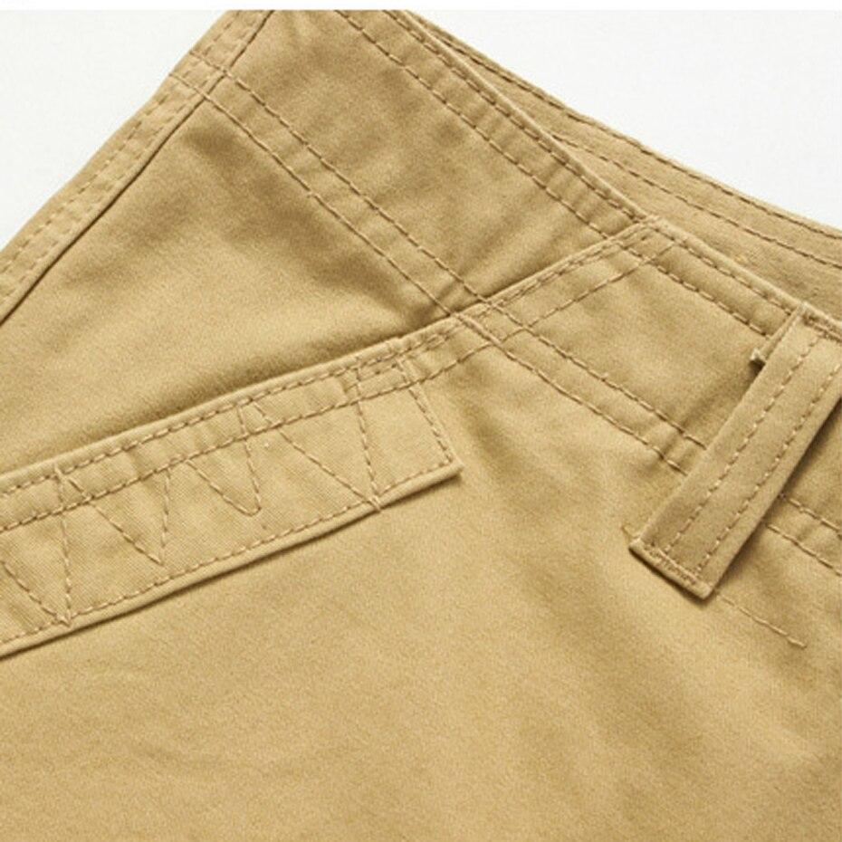 90% хлопок брюки-карго рабочие брюки для Для мужчин Тактический большие Размеры свободные Армейский зеленый черный хаки моды Повседневное ...