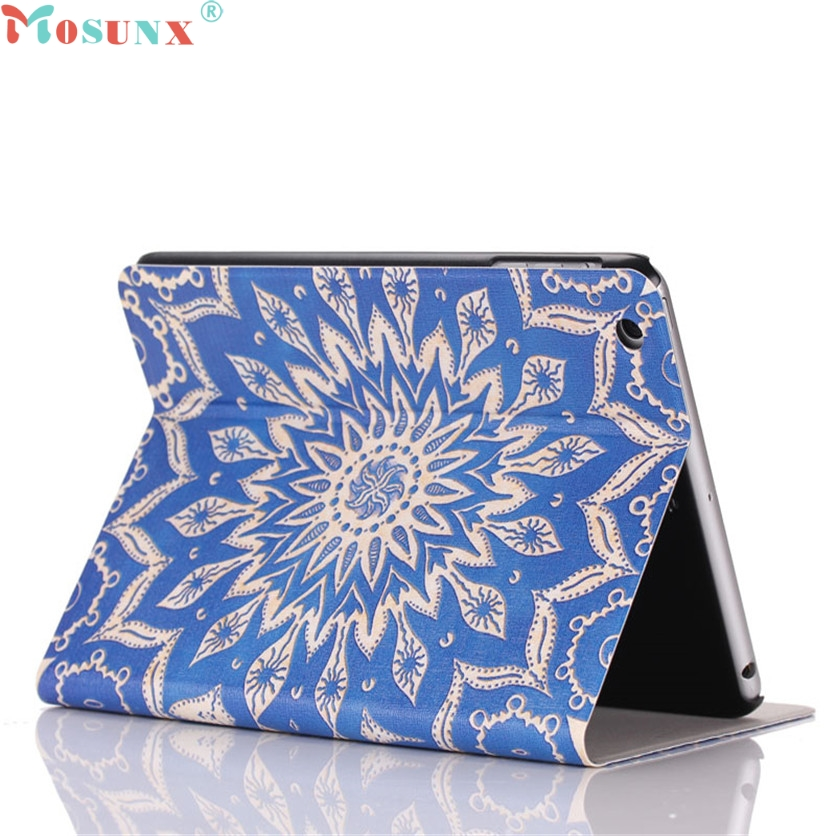 Mosunx SimpleStone Flip Stand Leather Case Cover For iPad Mini 1 2 3 Retina 60421 мозаики чудо творчество winx мозаика сингл flora
