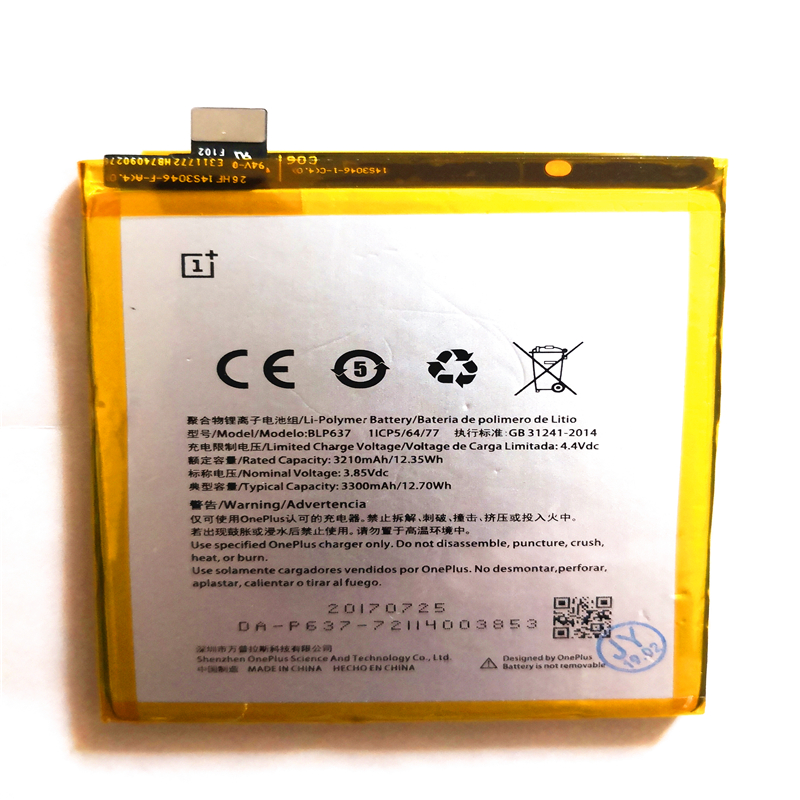 BLP637 3300mAh Phone <font><b>Battery</b></font> For <font><b>Oneplus</b></font> 5 <font><b>5T</b></font> One Plus 1+5 <font><b>5T</b></font> <font><b>Battery</b></font> Replacement High Quality AAA with Repair Tools for gift image