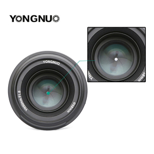 Image 3 - YONGNUO YN 50mm YN50mm F1.8 Lens Large Aperture AF/MF Auto Focus Fixed Lens for Canon EOS or Nikon DSLR Camera