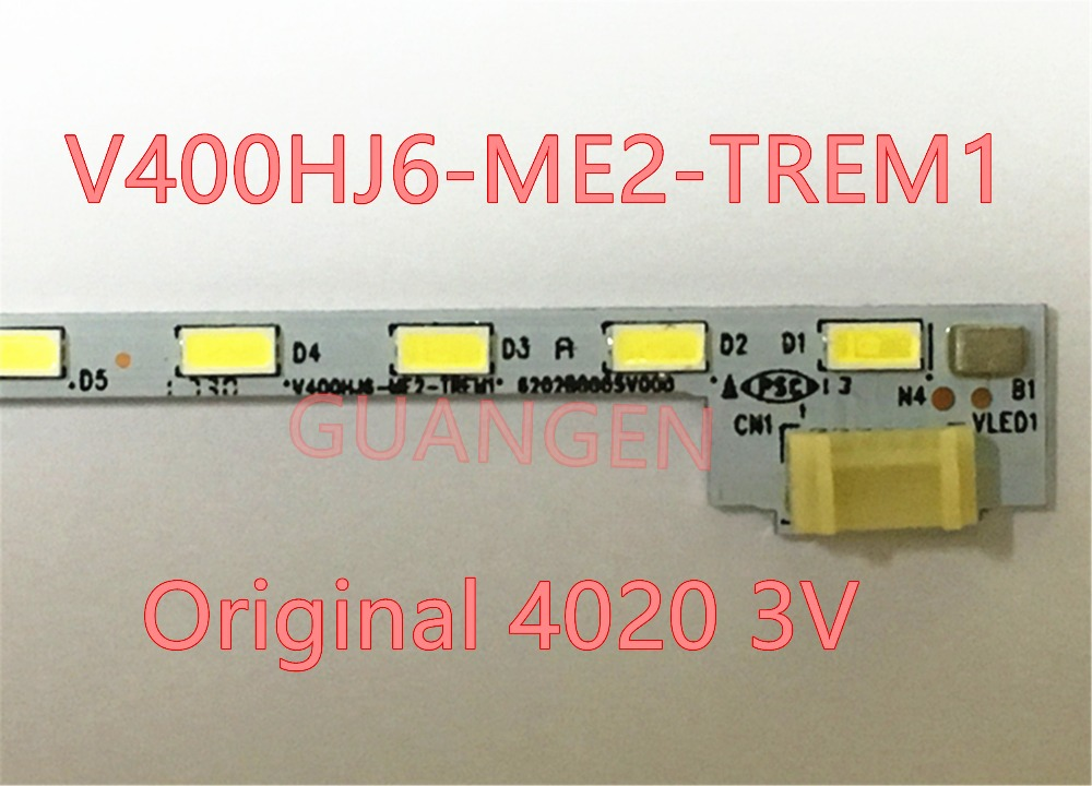цена 5pcs/lot FOR Repair Sharp LCD-40V3A LCD TV LED backlight Article lamp V400HJ6-ME2-TREM1 V400HJ6-LE8 1PCS=52LED 490MM is new