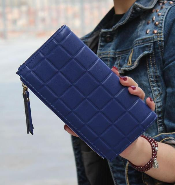 Women's Sexy Cube Grid Wallet