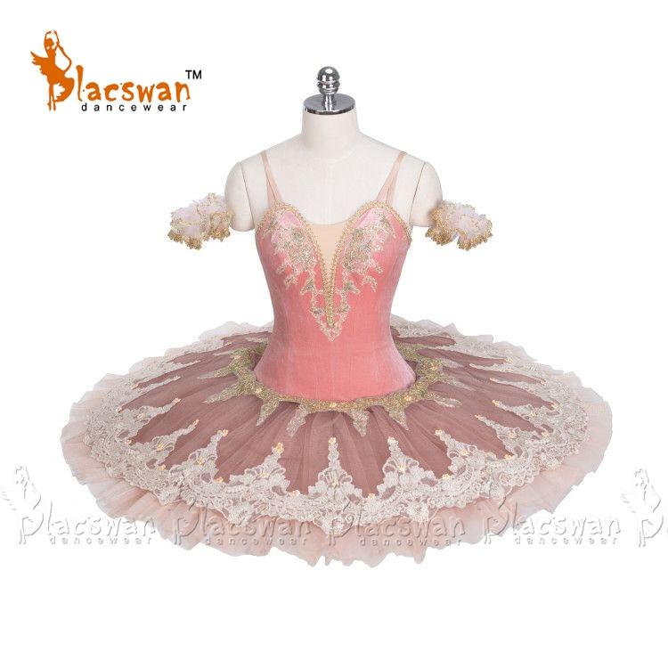 Peach Fairy Classical Ballet Tutu BT801 Girls Platter Tutus Pink Professional Tutu Adult Performance Pancake Ballet Tutu Costume