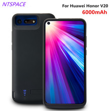 Portable Battery Charging cover For Huawei Honor V20 Extenal Battery Charger Case 6000mAh Backup Power Bank Charging Case