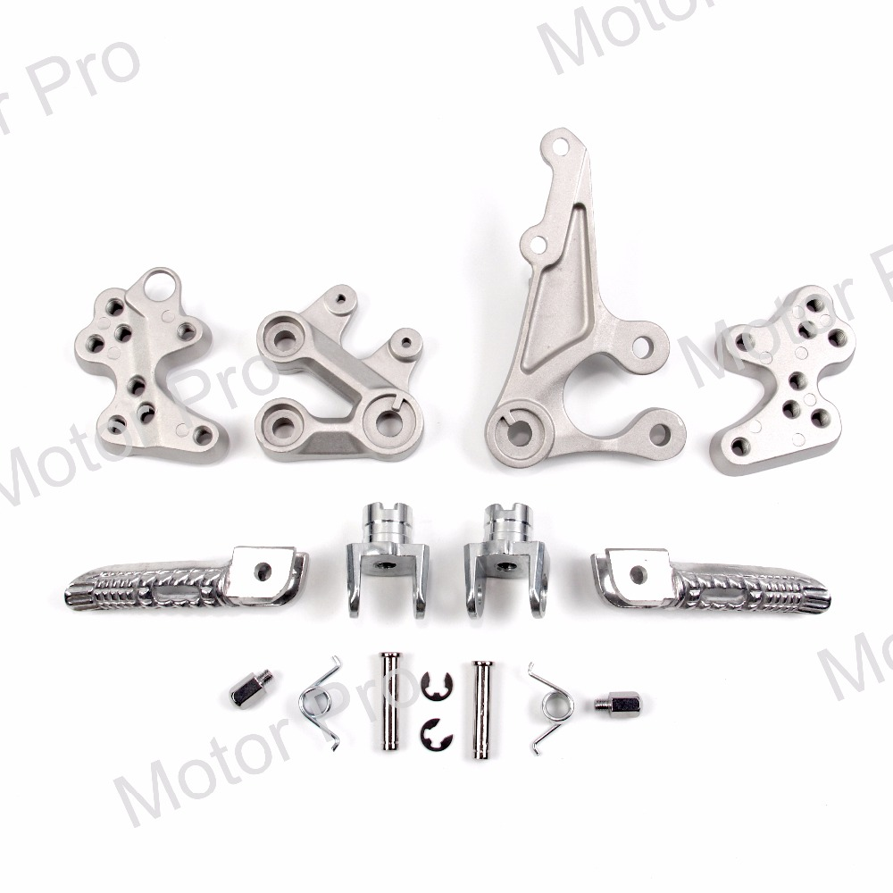 Front Footrests For Suzuki GSXR 1000 2005 2014 Rider Foot Pegs Brackets GSX R GSX R