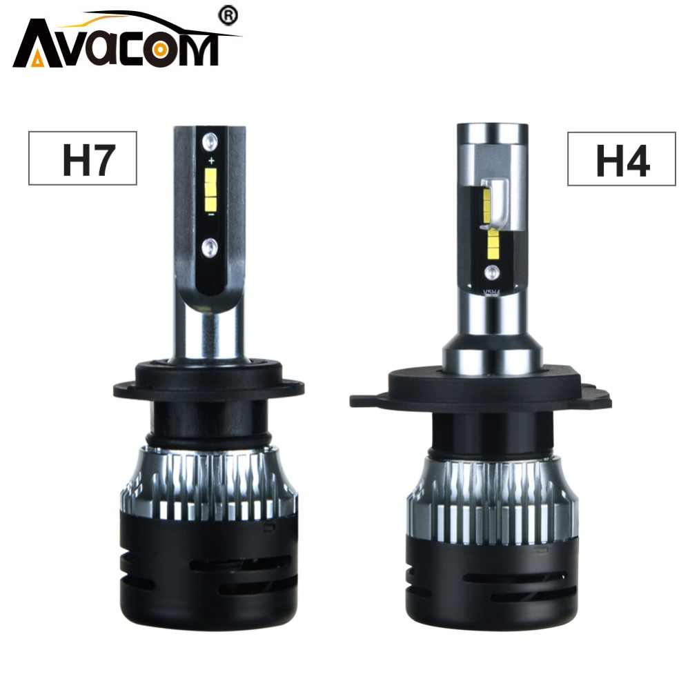 2Pcs LED H15 H7 Turbo Fan Car Headlight Lamp 12V 24V H1 H3 H11 H8 9005/HB3 9006/HB4 CSP 6500K 10000Lm Super LED H4 Auto Ice Bulb