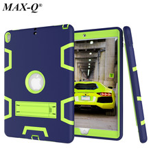 For Coque iPad Pro 10.5 Case MAX-Q Shockproof Armor Defender Case Hybrid PC Rugged Silicone Cover for iPad Pro10.5 inch Tablet