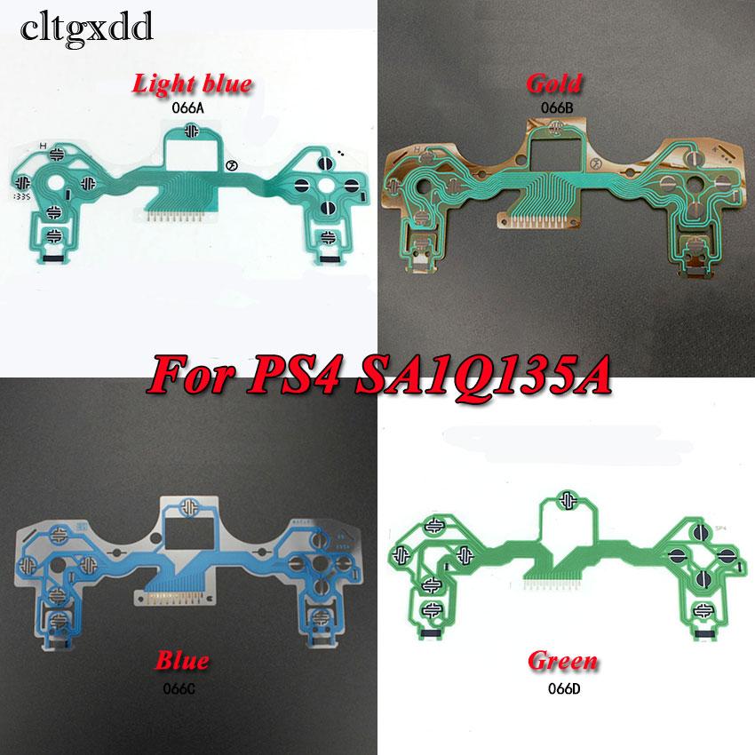 Cltgxdd For PS2 PS3 PS4 SA1Q135A JDM 040 030 Controller Conductive Film Buttons Flex Cable For PS4 Slim/Pro Joystick Repair Part