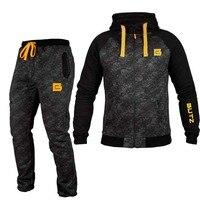 2018 men's sportswear fashion thermal underwear men's casual suit jogger free shipping outdooer bodybuilding men's clothing