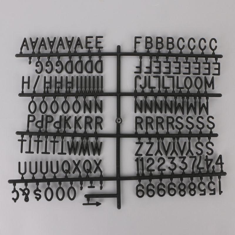 Персонажи для доски с буквами из фетра 290 шт. цифры для доски со сменными буквами